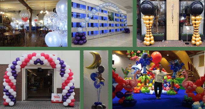 Ballondecoraties ballonnenman