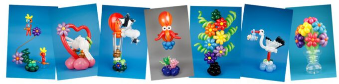 Ballonkunst van ballonkunstenaar Pieter