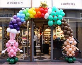 ballonnenboog dieren ballonnenman Pieter
