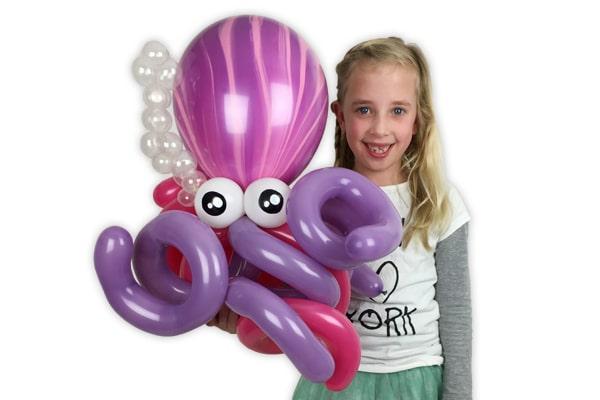 Ballonfiguur Ballonnenman Pieter voor Esmee