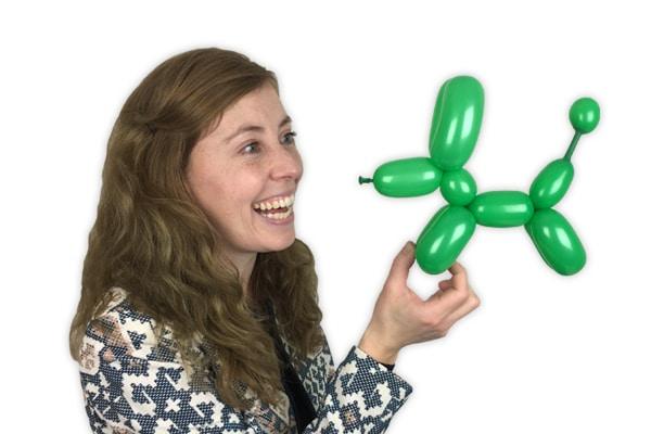 Ballonnenhond workshop ballonvouwen Ballonnenman Pieter