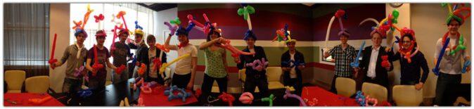workshop ballonvouwen activiteit