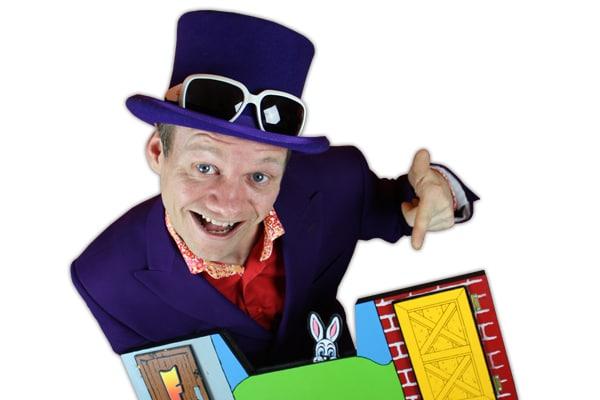 kinder goochelaar goochelshow
