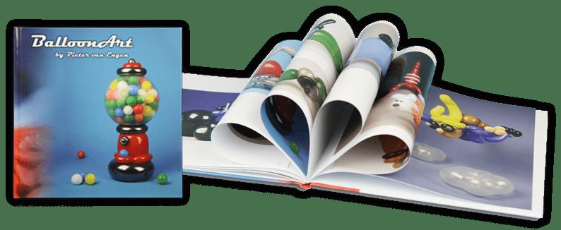 Ballonartiest Pieter boek