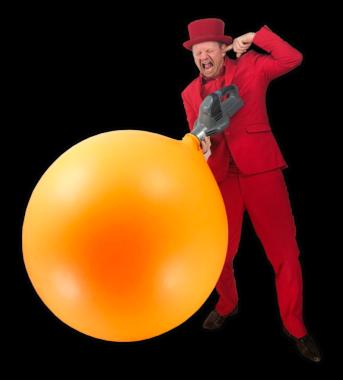 Ballonnenshow instap ballon