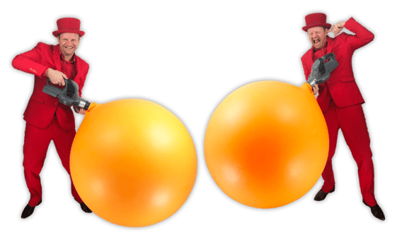Kinder goochelaar reuze ballon