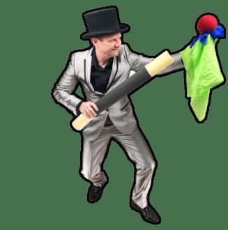 Sinterklaas voorprogramma goochelaar Pieter