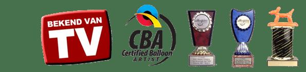 ballonartiest Pieter awards