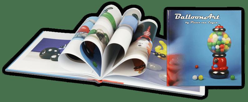 Ballonkunstenaar Pieter ballonkunst boek