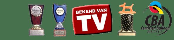 ballonnenartiest Pieter awards