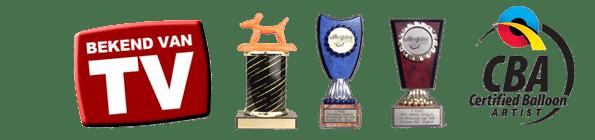 Ballonnenclown Pieter awards