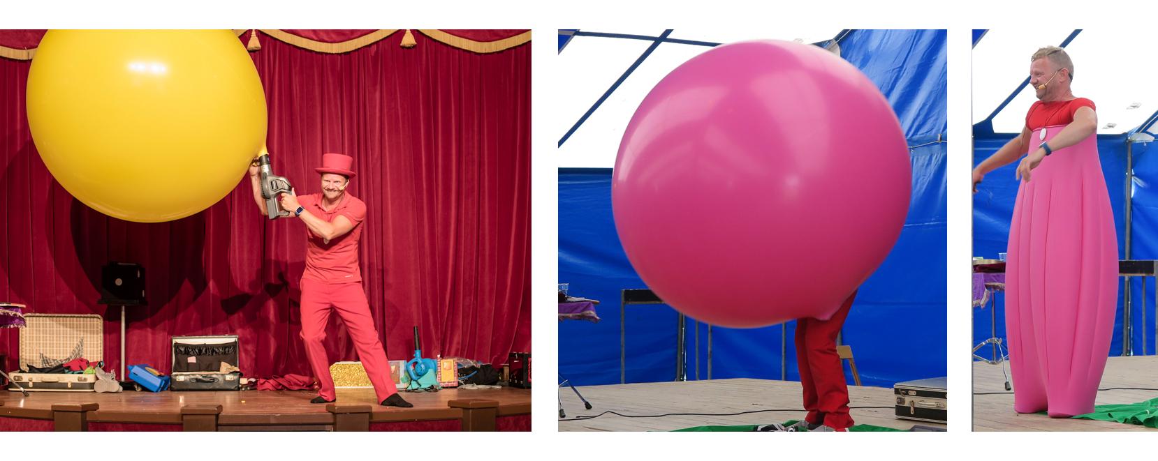 ballonnenshow ballonnenman Pieter