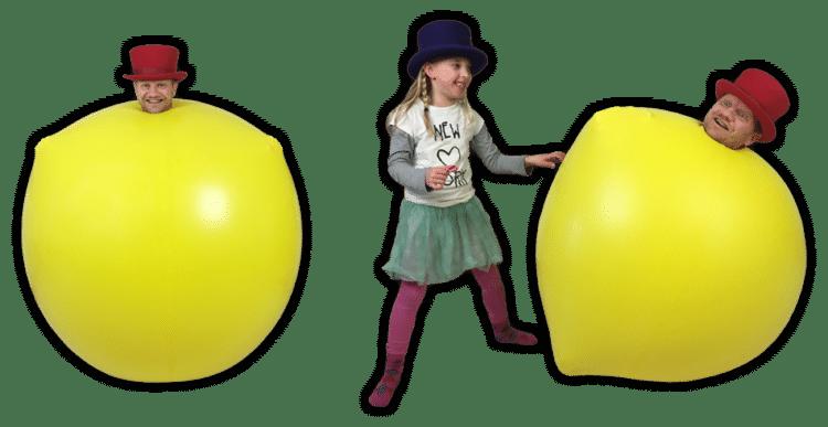ballonnenshow reuzeballon inklim ballon act