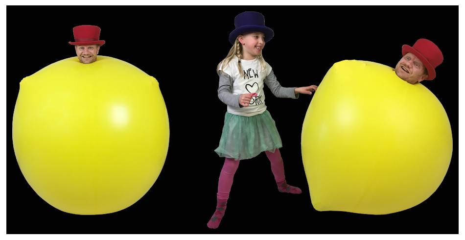 ballonnenshow keuzeballon inklim ballon act