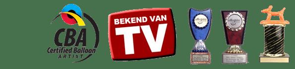 Ballonvouwer Pieter awards