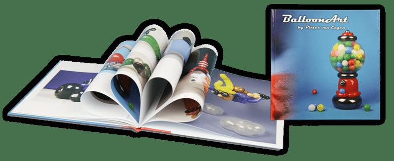 ballonvouwer ballonkunst boek