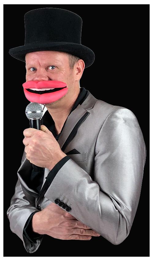 kinderpresentator Pieter