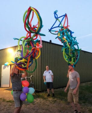 workshop ballonvouwen team building challenge